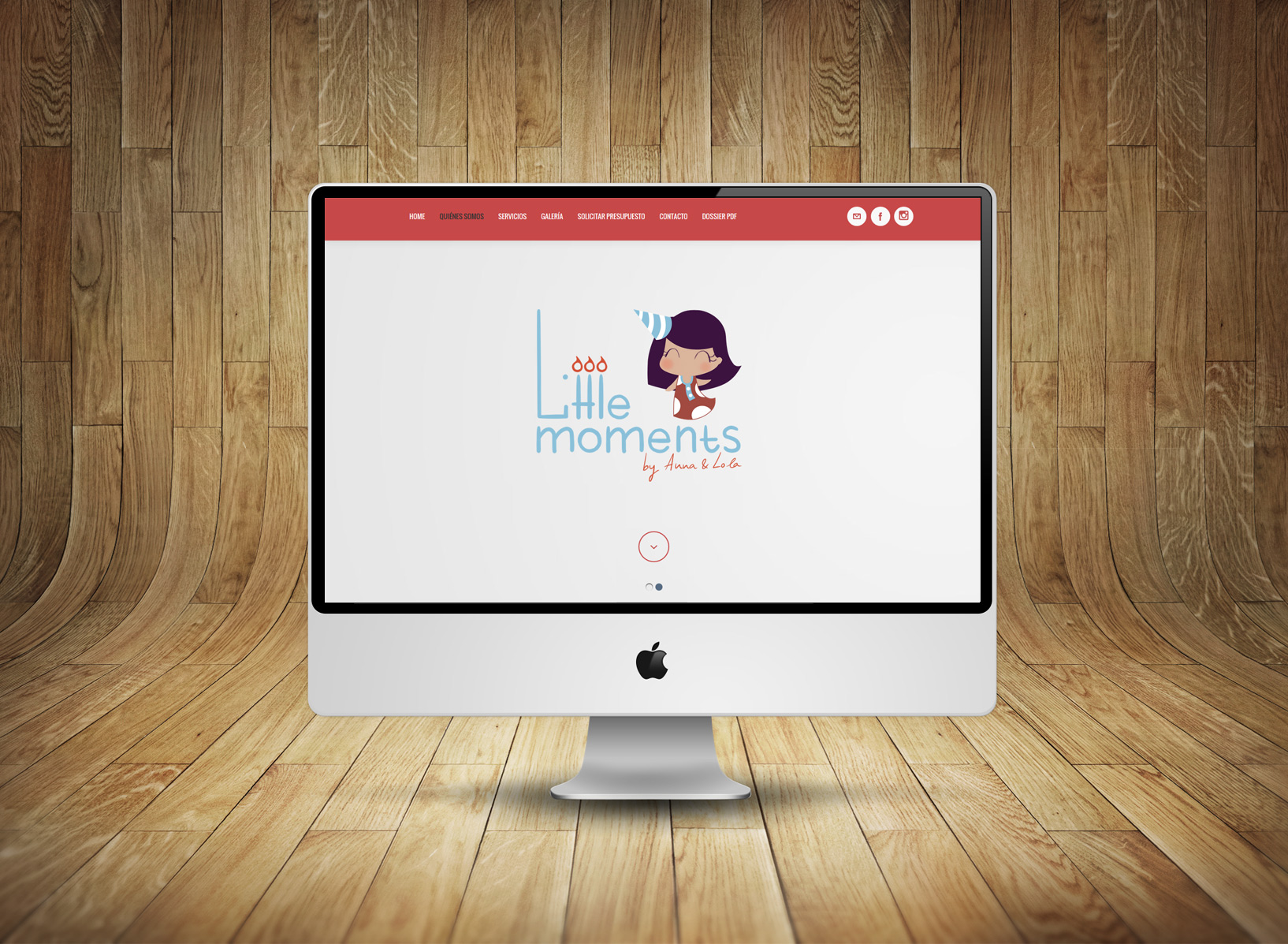 Implementación wordpress littlemoments.es