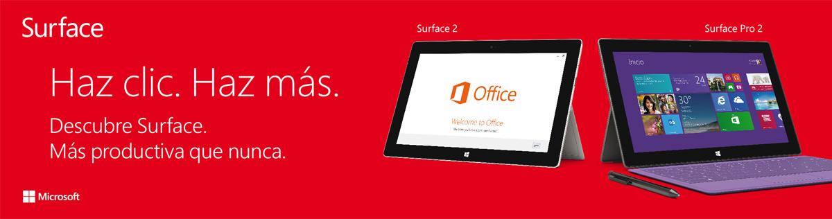 Microsoft Surface PLV
