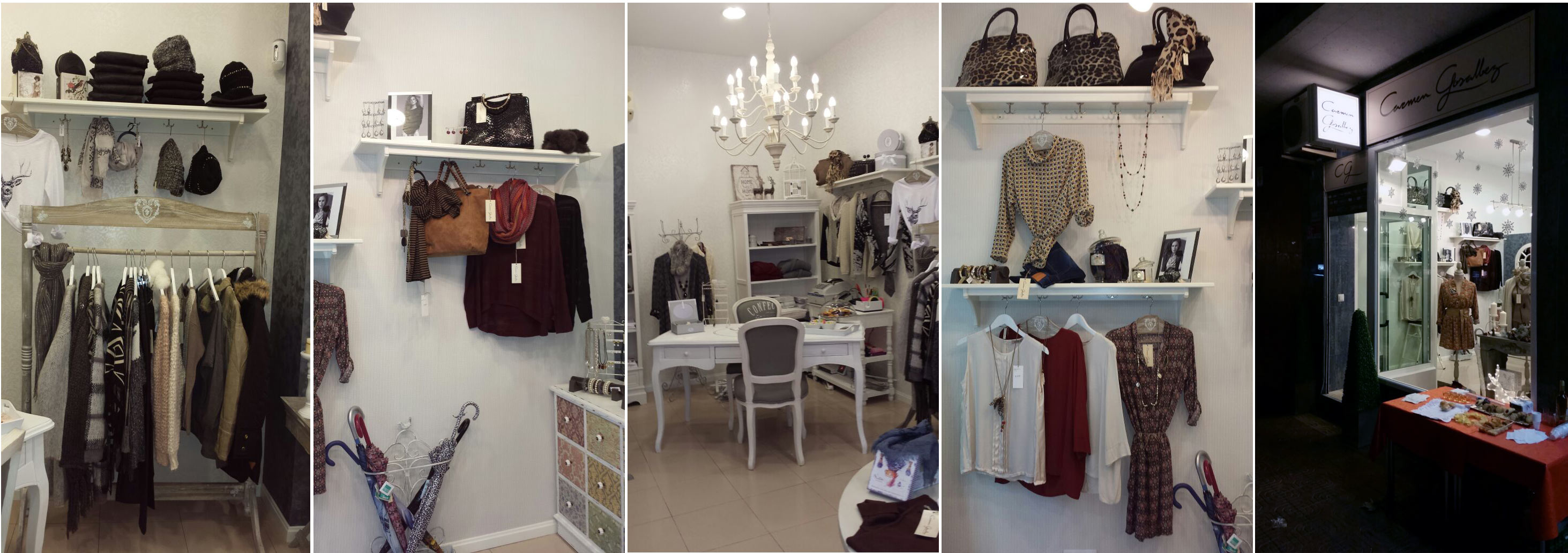 Imágenes de la tienda de Carmen Gosálvez