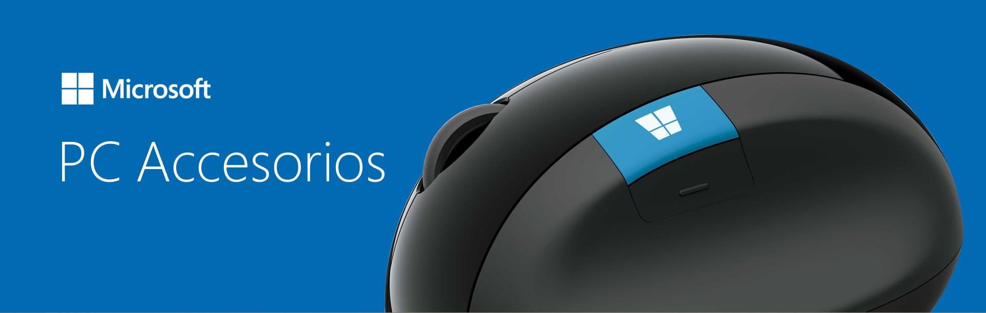 Campañas de lanzamientos de accesorios para PC/Mac Microsoft