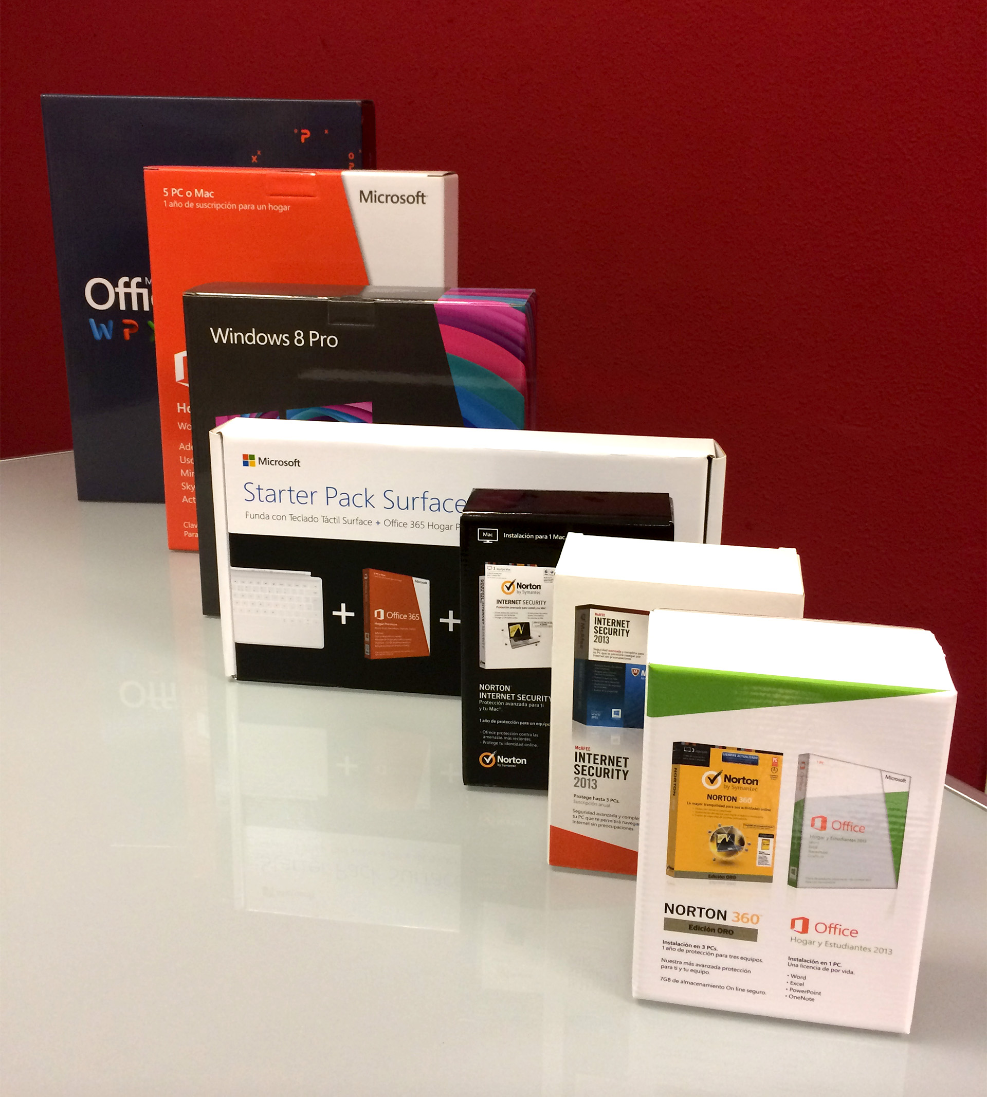 Packaging para bundle de Office + antvirus