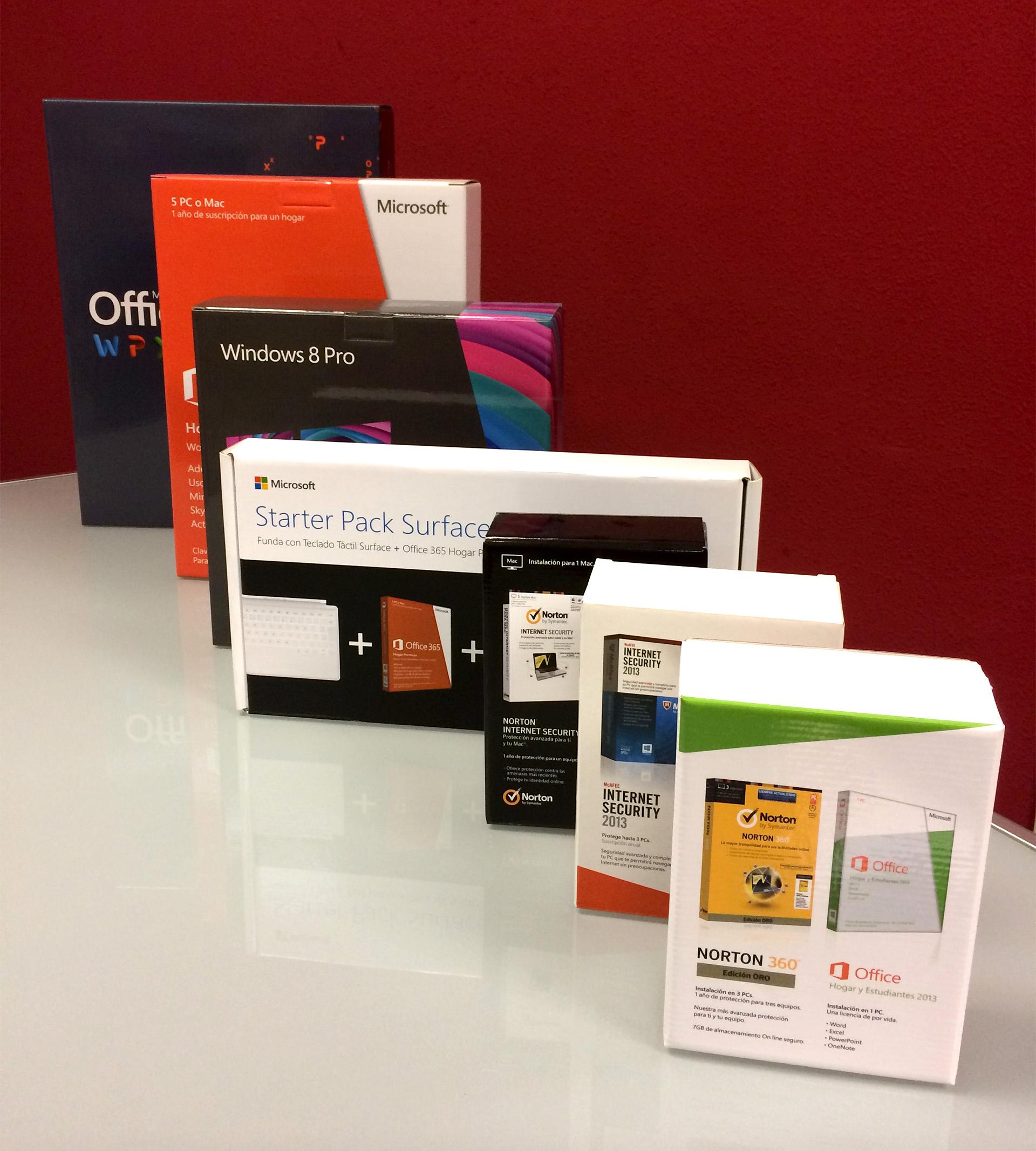 Packaging para bundle de Office + antvirus