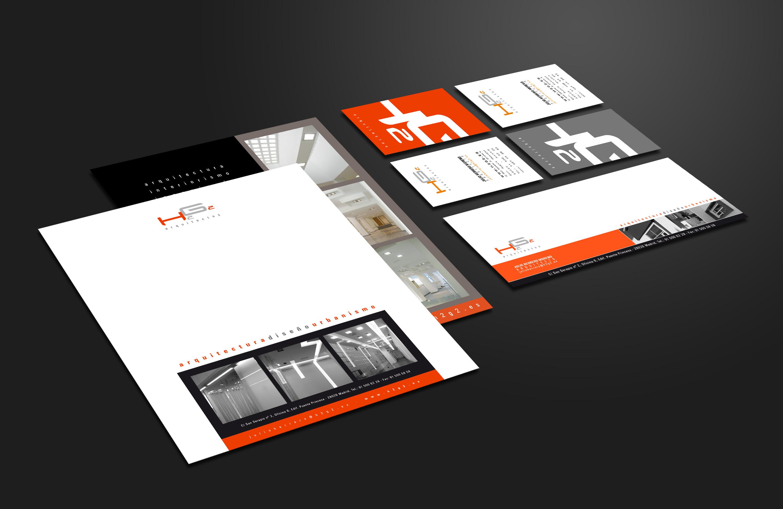 Desarrollo de imagen corporativa para estudio de arquitectura