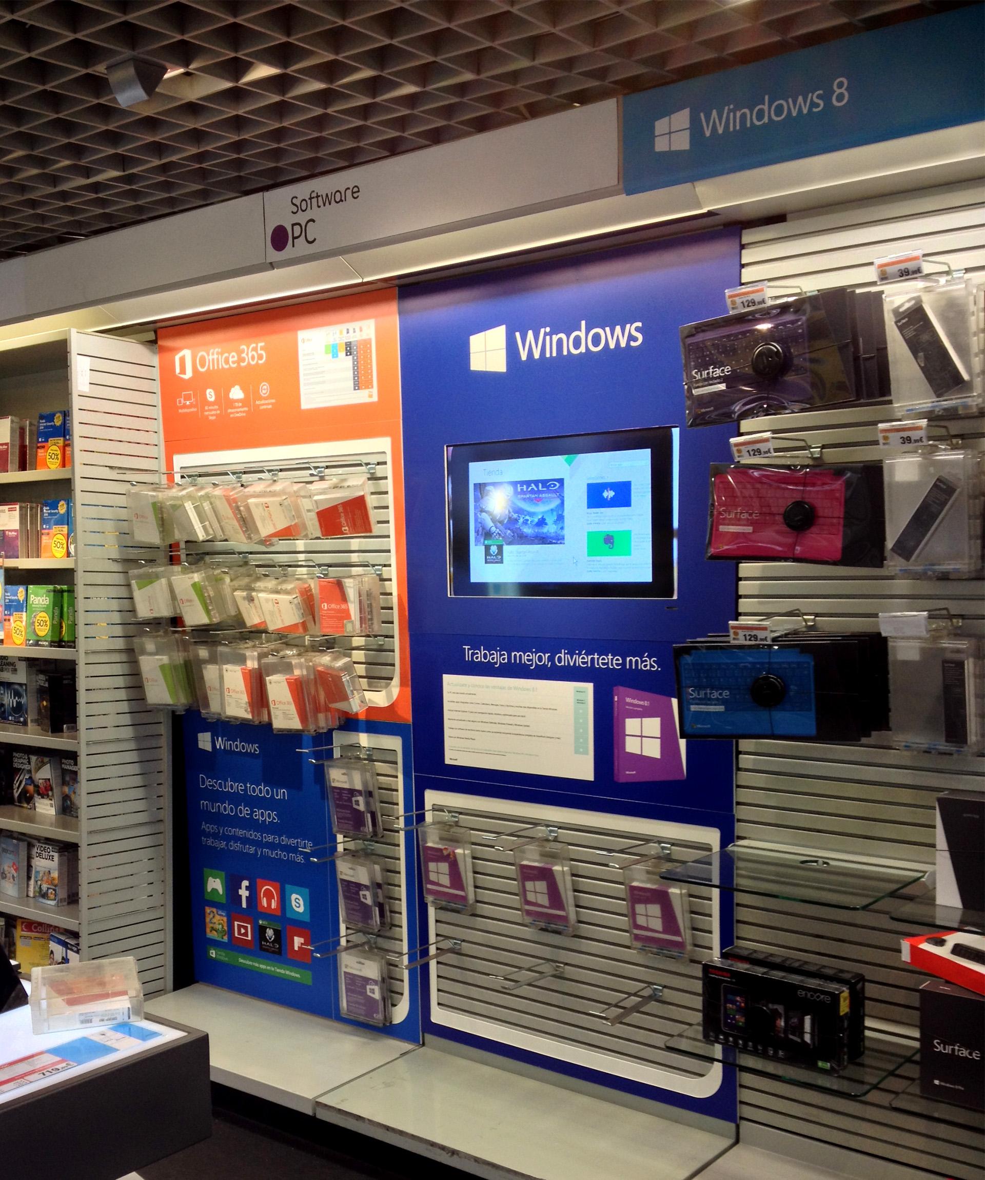 Lineales Microsoft en tendas Fnac